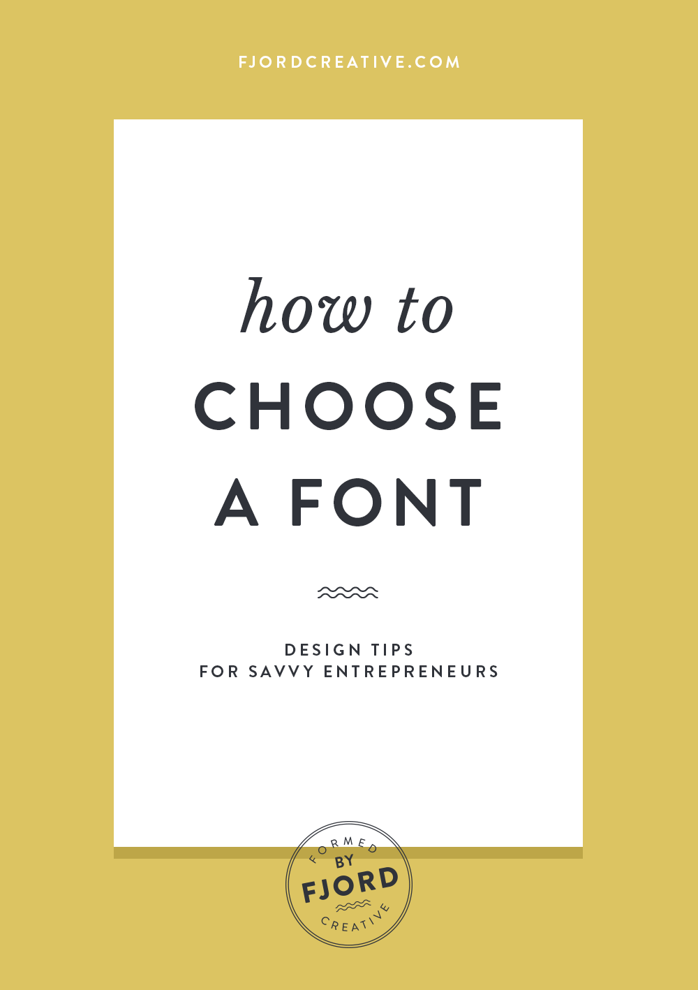 How to Choose a font! Learn to choose fonts like a design pro