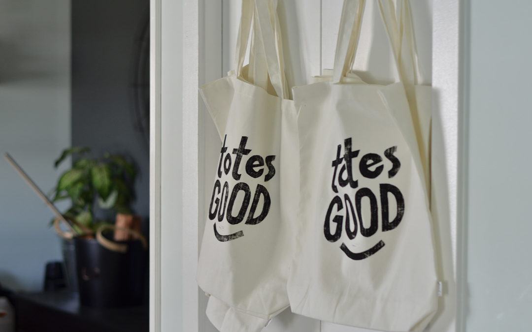 Totes Good! Block Printing Process Video